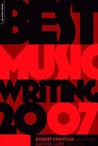 Best Music Writing 2007 front cover